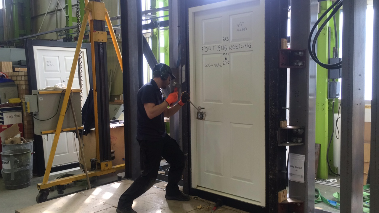 Security Doors Tested And Certified 003