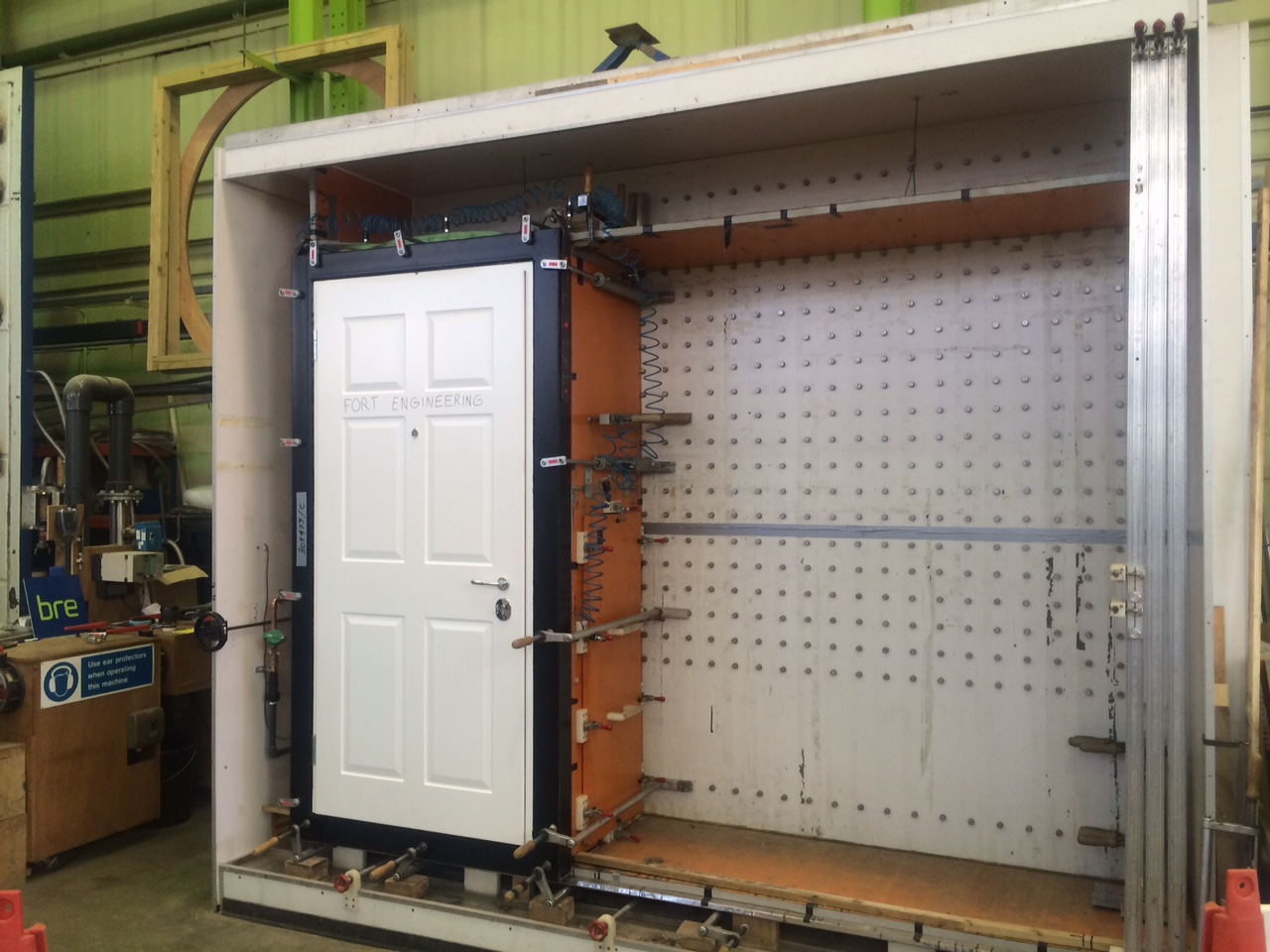Security Doors Tested And Certified 004