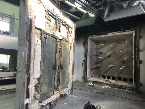 Fort Security 2 Front Doors After Fire Resistance Test 2