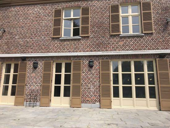 Fort Security Bulletproof Casement Windows And Matching Patio Doors