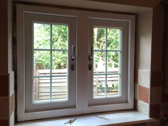 Fort Security Casement Window With 2 Active Openings Inside