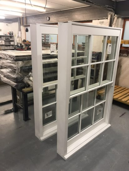 Fort Security Constructed Sash Window In Assembly Area 3