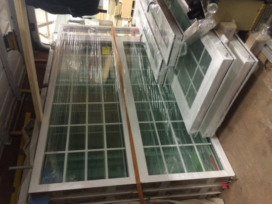 Fort Security Finished Casement Windows Ready For Transport