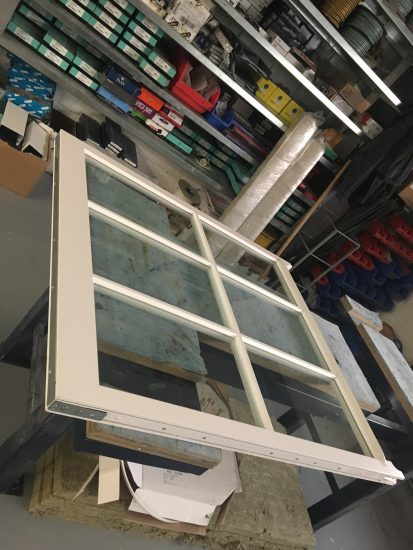 Fort Security Sash Window In Assembly Area