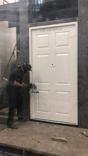 Fort Security Testing Front Doors According To Lps 1175 Standard Security Level 3