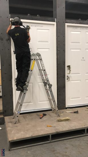 Fort Security Testing Front Doors From Top To Bottom According To Lps 1175 Standard Security Level 3