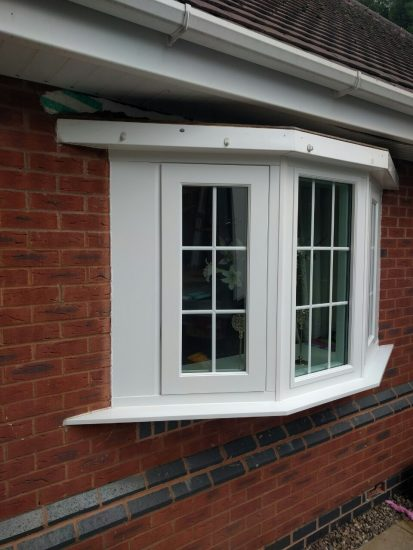 Fort Security Triple Casement Window With 2 Active Openings