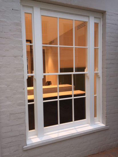 Fort Security Triple Sash Window Installed